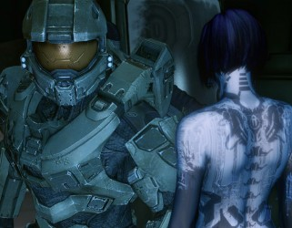 The Chief And Cortana talking to each other
